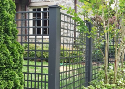 MSW Ornamental Iron Fencing